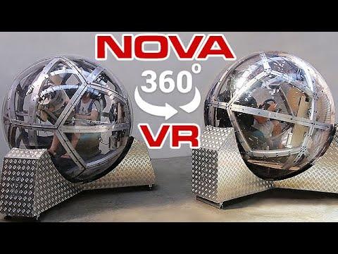 Nova 360 Degree Motion Virtual Reality Simulator