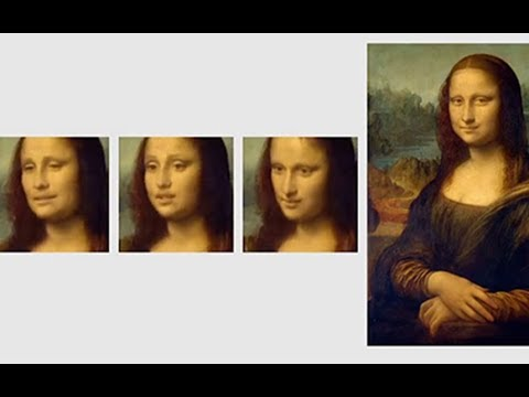AI brings Mona Lisa to life