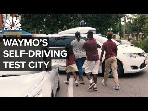 Inside The City Where Waymo Tests Self-Driving Vehicles