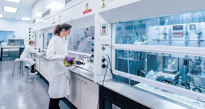 Arcinova's drug research labs in Alnwick, England.