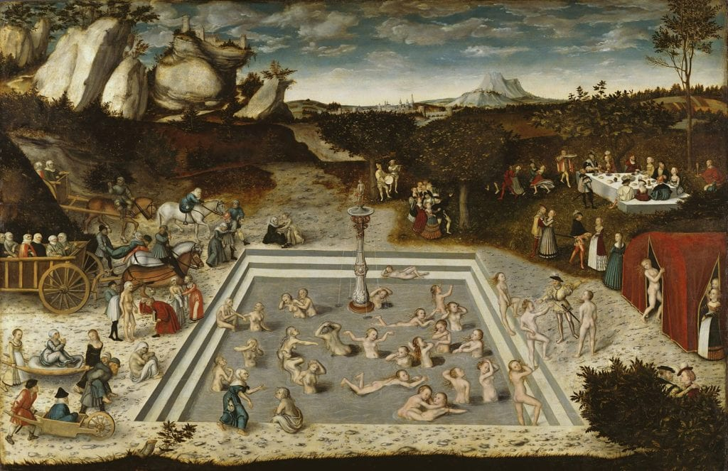 The Fountain of Youth, 1546 painting by Lucas Cranach the Elder.
