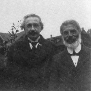 Albert Einstein and Michele Besso
