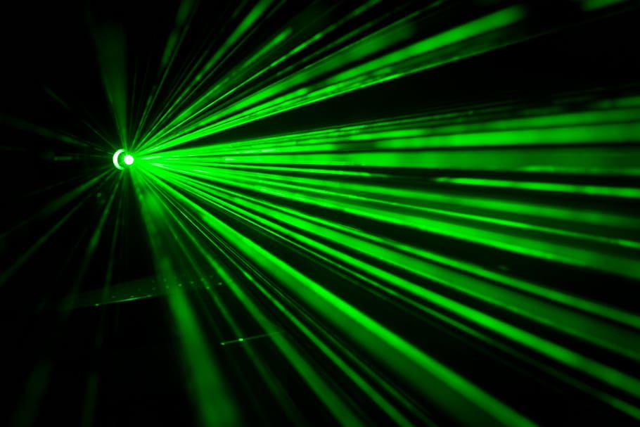A laser beam consists of photons – so too are all gamma rays, X-rays, ultraviolet light, visible light, infrared, microwaves, and radio waves.